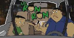 Lil Ron Ron In the car with his dad!