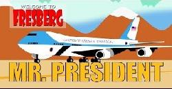 Educational Video for Children - President Comes to FresBerg - Cartoon - Barack Obama  - Fresno