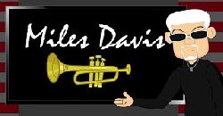 Biography on a Jazz Legend: Miles Davis. A Fun Cartoon Documentary for Music & Black History