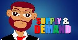 Supply and Demand (Economics Cartoon for Kids) Educational Video for Students (CN)