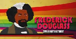 Frederick Douglass for Kids(Cartoon Biography) Educational Videos for Students (Black History Month)