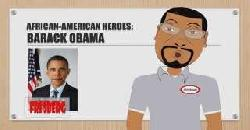 Black History Month: African American Heroes - Barack Obama - Educational Cartoon for Children