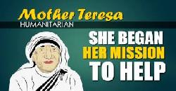 Mother Teresa (Biography for Children) Youtube for Kids (Women's  History Month)