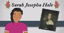 Sarah Josepha Hale (Thanksgiving for Kids) History Lesson (Educational Videos for Students) Cartoon