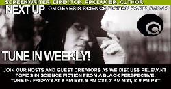 GENESIS SCIENCE FICTION RADIO 5 10 13 HISANI DUBOSE