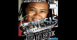 DR  JARITA JC HOLBROOK!! THIS FRIDAY 11 15 13 ON GENESIS SCIENCE FICTION